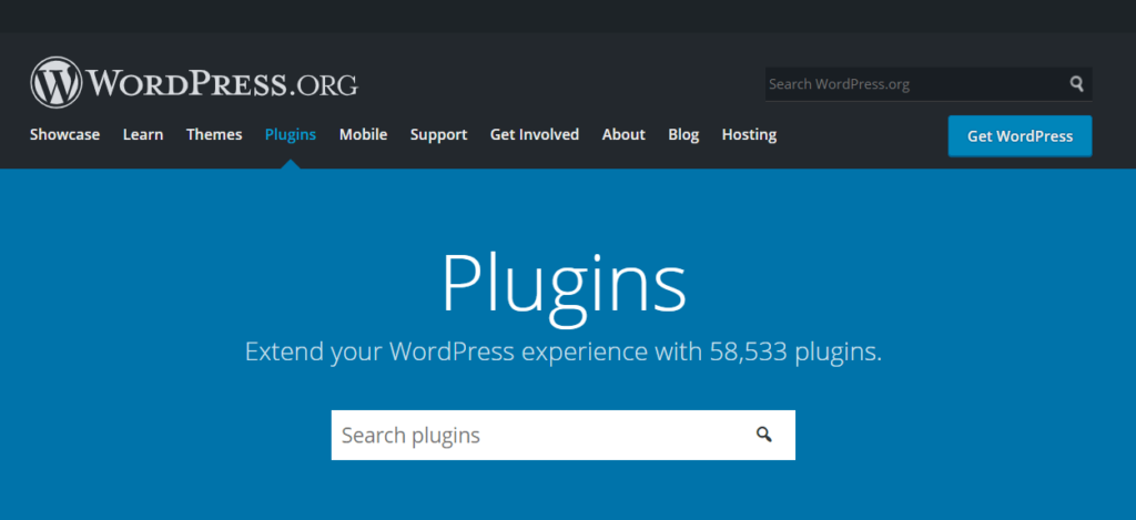 The banner for the WordPress.org plugin page.